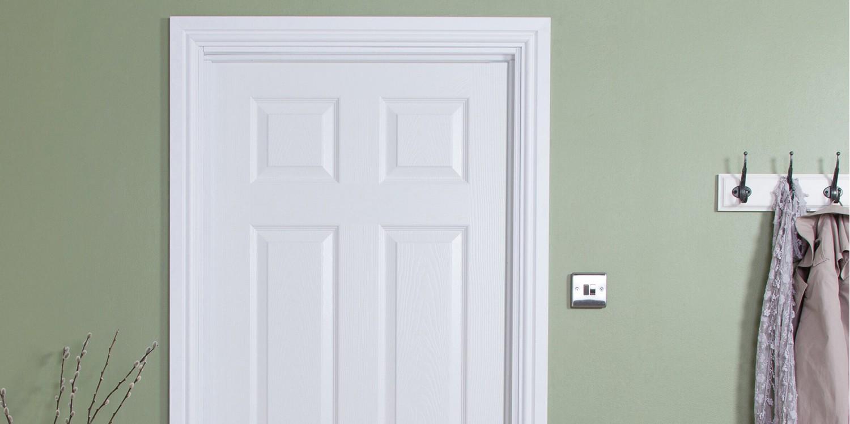Upgrading Flat Panelled Doors Using Coating System