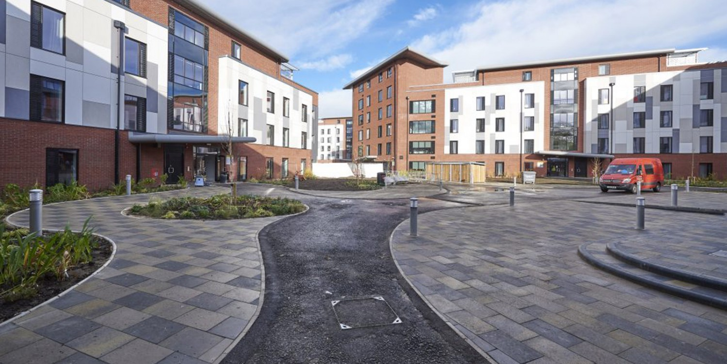 Hull University - The Courtyard Accommodation